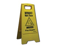 """Wet Floor"" Sign  Each"